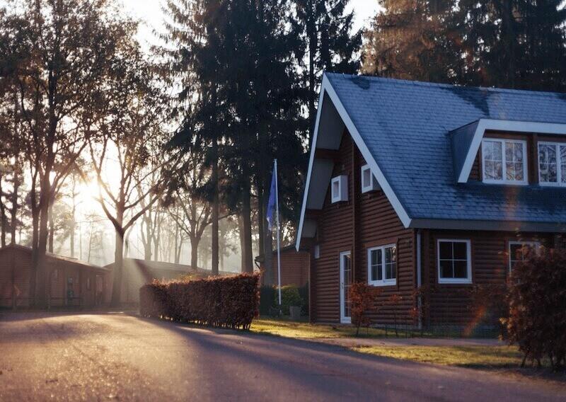 Woonhuis in bosrijke omgeving